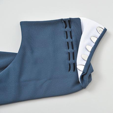 紳士用カラーナイロンストレッチ足袋 5枚こはぜ(4色)(M-LL)