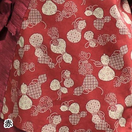ひょうたん柄さむえ(赤・紺・紫)(F)