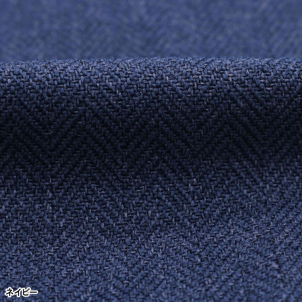ナノヒーティング裏起毛作務衣 暖(チャコールグレー・ネイビー)(M-LL)