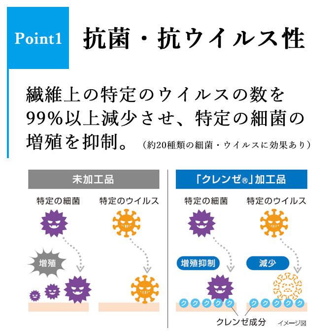 抗菌・抗ウイルス機能繊維加工 T/Cデニム作務衣 濃紺(M-LL)