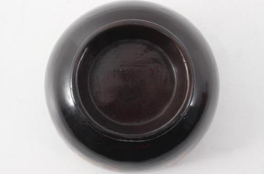 蒔絵碗 H9.7×W14cm 合箱