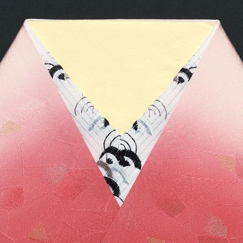 縦絽半衿/ポリエステル/白地/単衣用 たて絽・青海波 半衿 縦絽半衿/ポリエステル/白地/単衣用 / 半襟