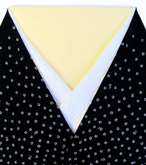 立涌扇面文 紋半衿 / 正絹 / 袷用 立涌扇面文 紋半衿 / 正絹 / 袷用 / 半襟