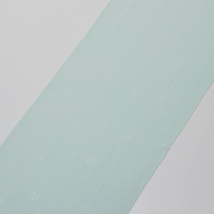 帯揚 国産繭梅鉢 白藍色 帯揚 国産繭梅鉢 白藍色(帯揚、国産繭、梅鉢)