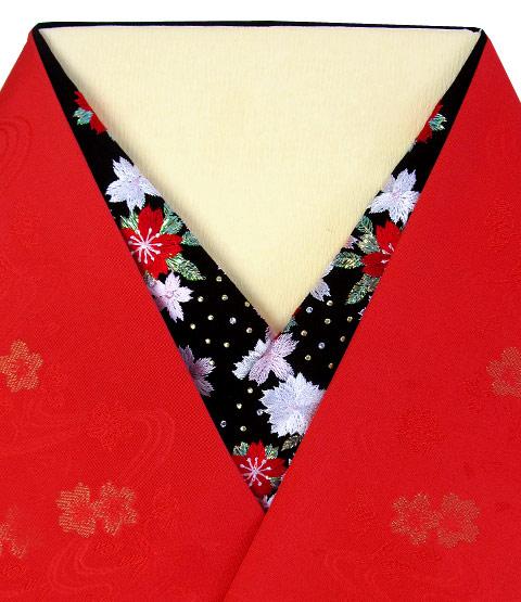 桜宴 刺繍半衿 / レーヨン / 袷用 桜宴 刺繍半衿 / レーヨン / 袷用 / 半襟