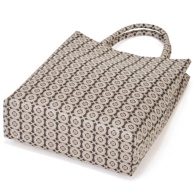 有職西陣織 定番の縦型バッグ きれいな仕立てでお茶席にも最適  有職西陣織 正絹縦型手提げNo,5353 バッグ 手提げ 和装バッグ お茶席バッグ