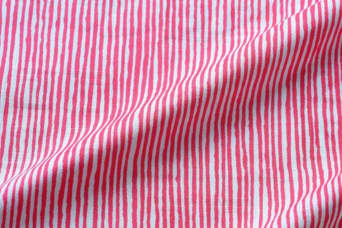 113cm幅 SOU・SOU×荒川 綿ジャガード風呂敷/間がさね・ピンク 和柄 和文様