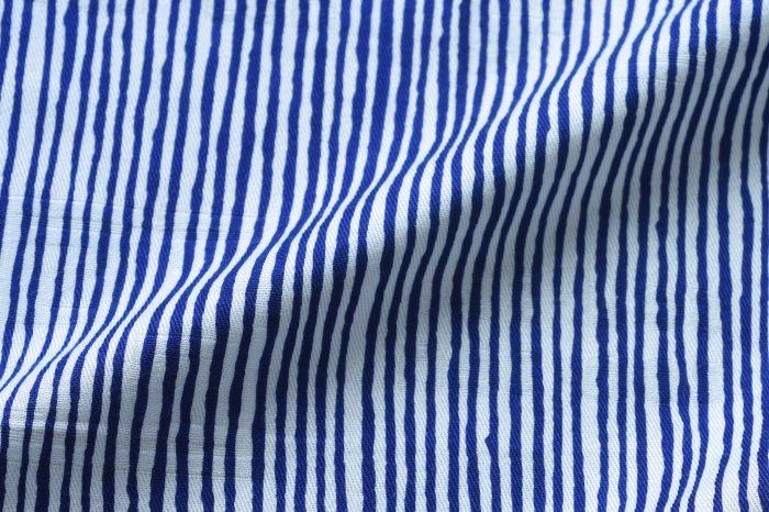 113cm幅 SOU・SOU×荒川 綿ジャガード風呂敷/間がさね・ブルー 113cm幅 SOU・SOU×荒川 綿ジャガード風呂敷/間がさね・ブルー 和柄 和文様