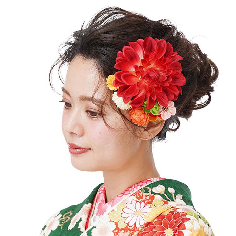 髪飾り 224-013 着物髪飾り 振袖 入卒 和装小物 京都 さんび シャルマン