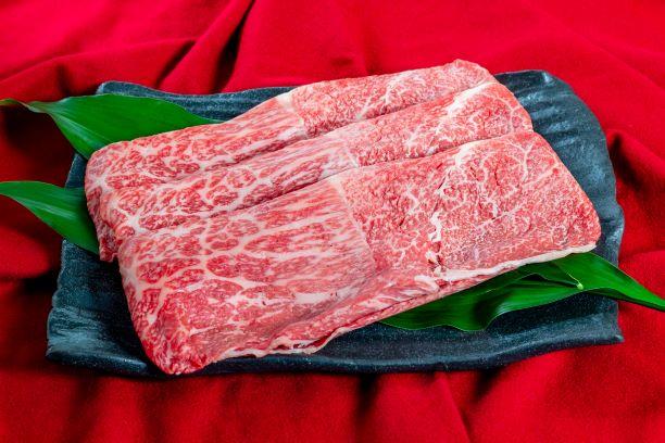国内産黒毛和牛モモすき焼き【WG-M】