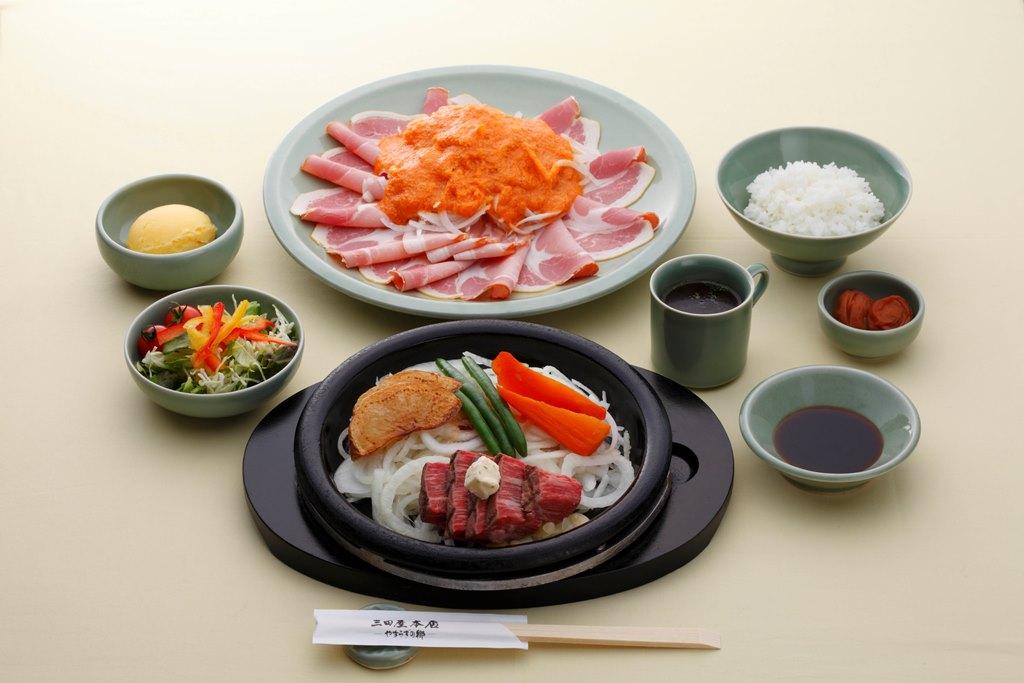 三田屋本店 三田店レストランお食事券 ヘレステーキペアチケット