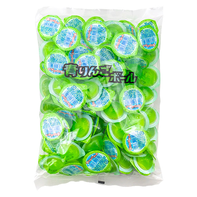 青リンゴボール(袋) 100入り