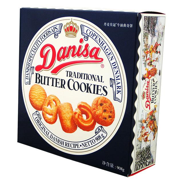 ダニサバタークッキー 908g(1缶)