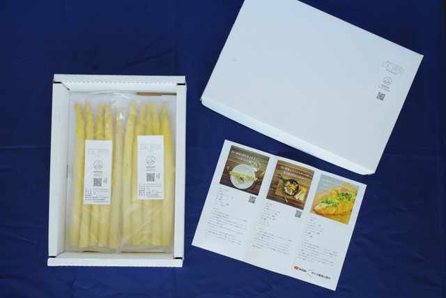 【グランプリ受賞】シェフが愛用する冷凍ホワイトアスパラガス