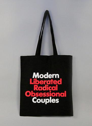 MOdern Couples トートバッグ