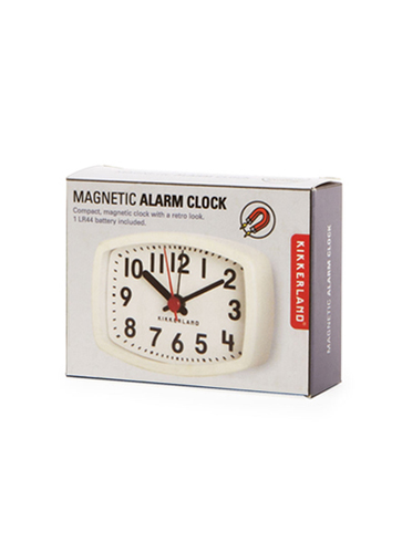 Magnetic Alarm Clock Ivory マグネティックアラームクロックアイボリー