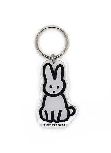 RABBIT [S] | Stand Up Keyring