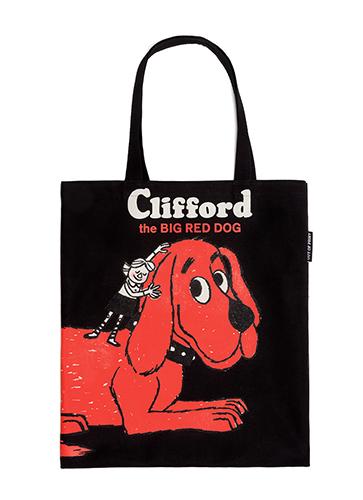 "Clifford the Big Red Dog - Tote Bag ""おおきいあかいクリフォード""トートバッグ"