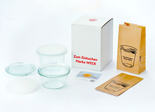 WECK GIFT BOX (MOLD 230ml×1・300ml×1)