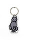 CAT [S] | Stand Up Keyring