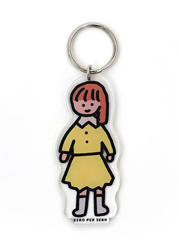 GIRL 2 [M] | Stand Up Keyring