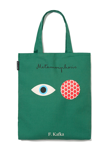 "Franz Kafka (Metamorphosis + Castle) - Tote Bag ""フランツ・カフカ""トートバッグ"
