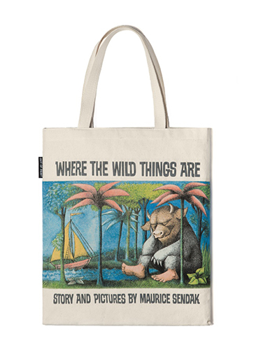 """Where the Wild Things Are - Tote Bag """"かいじゅうたちのいるところ""""トートバッグ"""