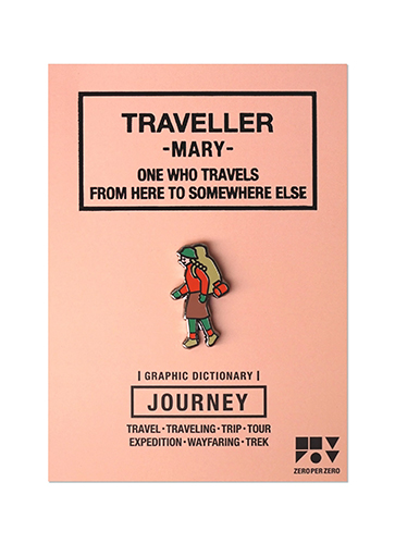 ZPZ トラベルピンズ TRAVELLER / MARY