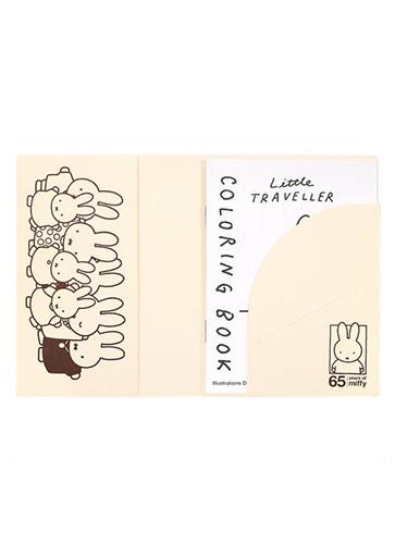 miffy パスポートカバー MIFFY (アイボリー) 65th Anniversary