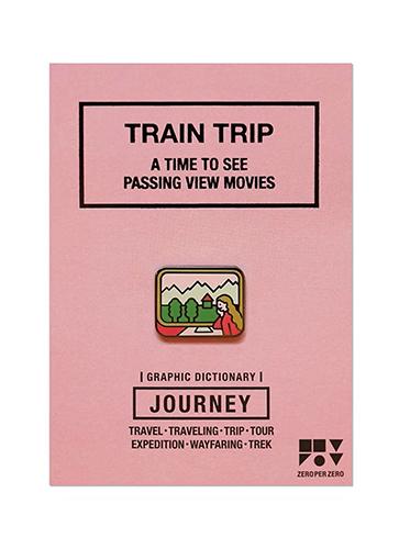 ZPZ トラベルピンズ TRAIN TRIP