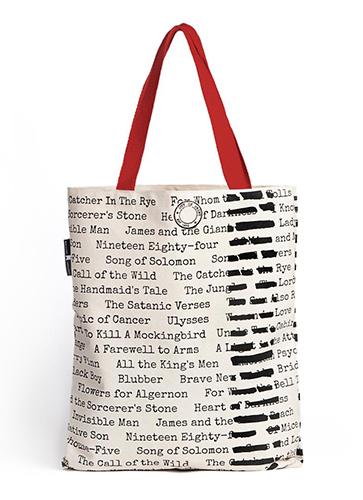 "Banned Books - Tote Bag ""禁書となった名作""トートバッグ"
