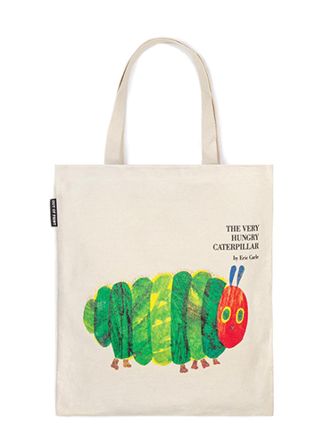 """The Very Hungry Caterpillar - Tote Bag """"はらぺこあおむし""""トートバッグ"""