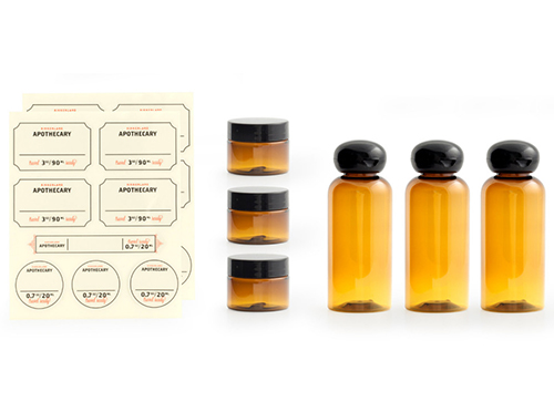 The Extended Stay Apothecary Travel Set