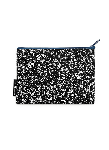 """Composition Notebook - Pouch """"コンポジション ブック""""ポーチ"""