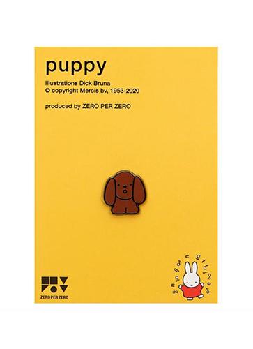 miffy ピンバッジ PUPPY