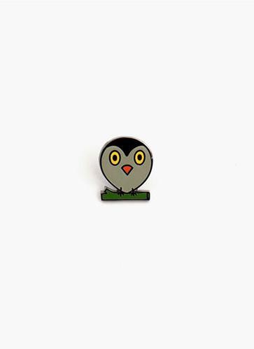 miffy ピンバッジ OWL