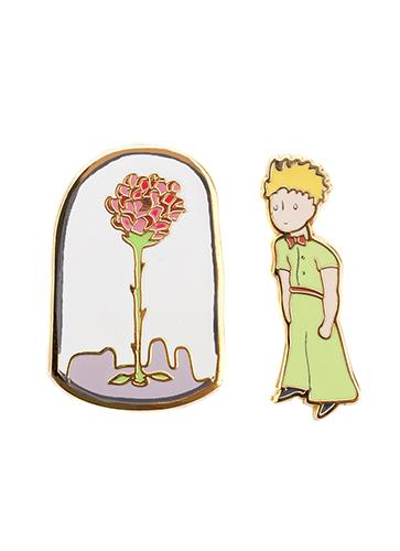 "The Little Prince Enamel Pin Set ""星の王子さま""ピンバッジセット"