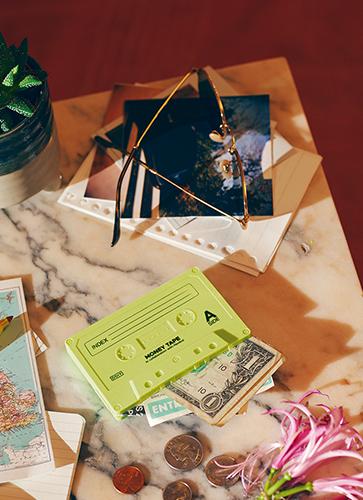 """Money Tape""""Neon yellow"""" マネーテープ """"ネオンイエロー"""""""
