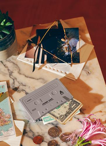 "Money Tape ""Gray"" マネーテープ ""グレー"""
