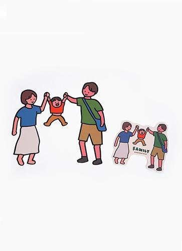 STICKER PACK-FAMILY