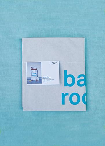 kolor PAPER BAG: bathroom (バスルーム)