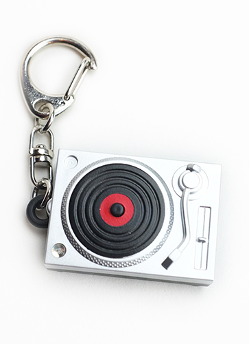 "Light-Up Keychain ""Turntable"""
