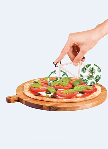 Fixie Pizza Cutter  *Tropical Vintage