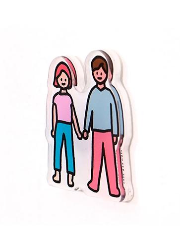 COUPLE   Magnet