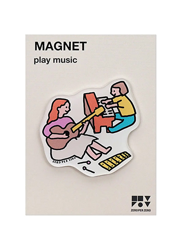 PLAY MUSIC   Magnet