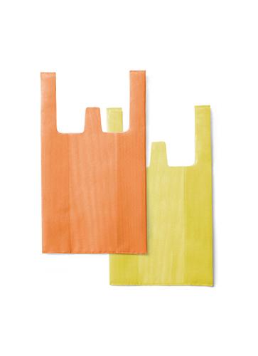CONVENI BAG / Orange × Yellow