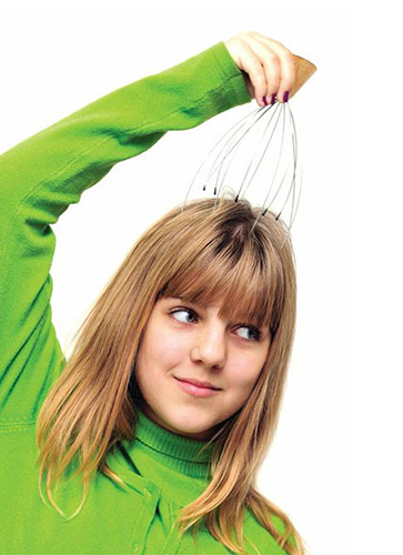 Standing Head Massager