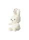 Miffy Corduroy Keychain 10cm WHITE
