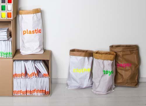 kolor PAPER BAG:  toys (玩具)