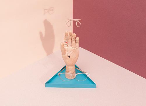 """The Hand """"Dark Turquoise"""" アクセサリースタンド"""